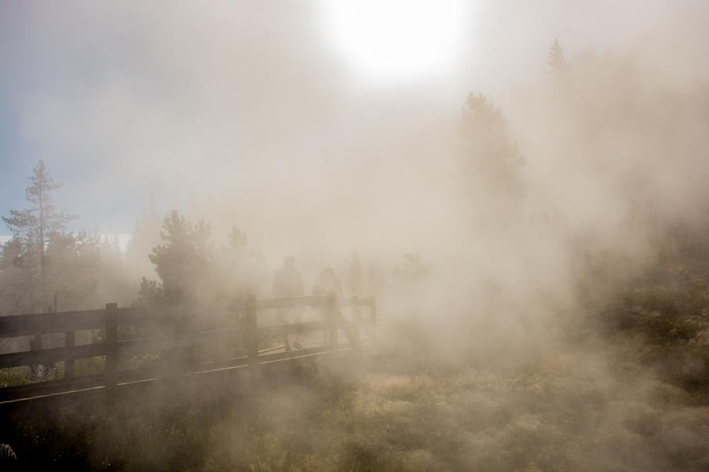 Yellowstone am frühen Morgen