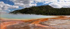 Yellowstone Grand Prismatic Panorama