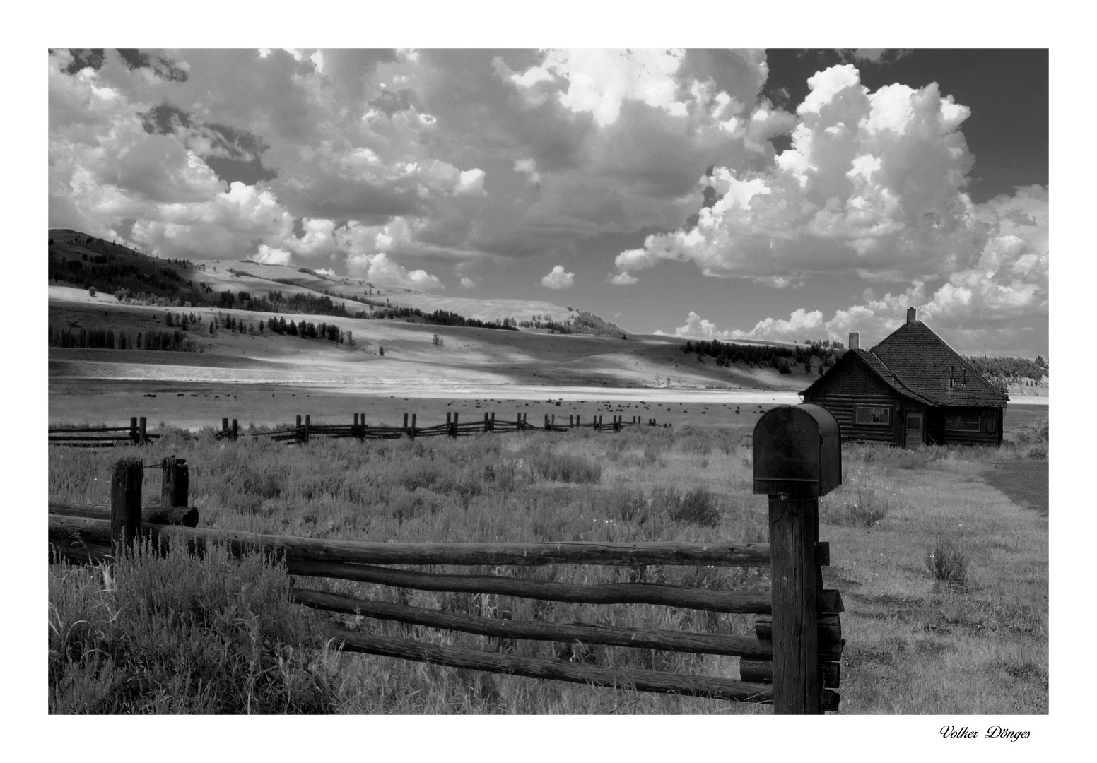 Yellowstone Nationalpark Lamar Ranger Station