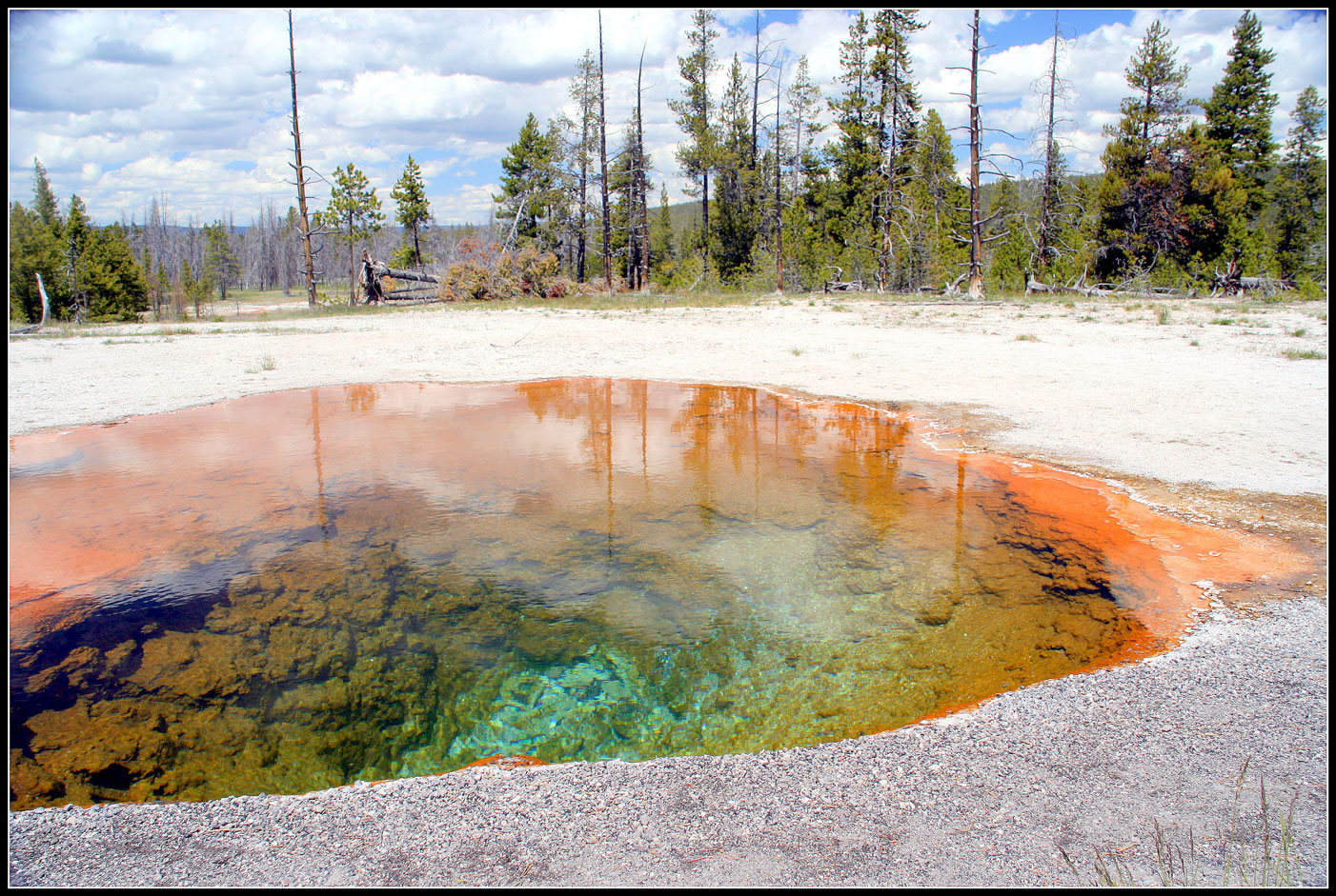 Yellowstone on it's best