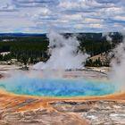 Yellowstones prächtiges Auge