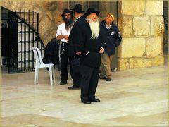 Yerushalayim - an der klagemauer habe ich diese netten menschen getroffen