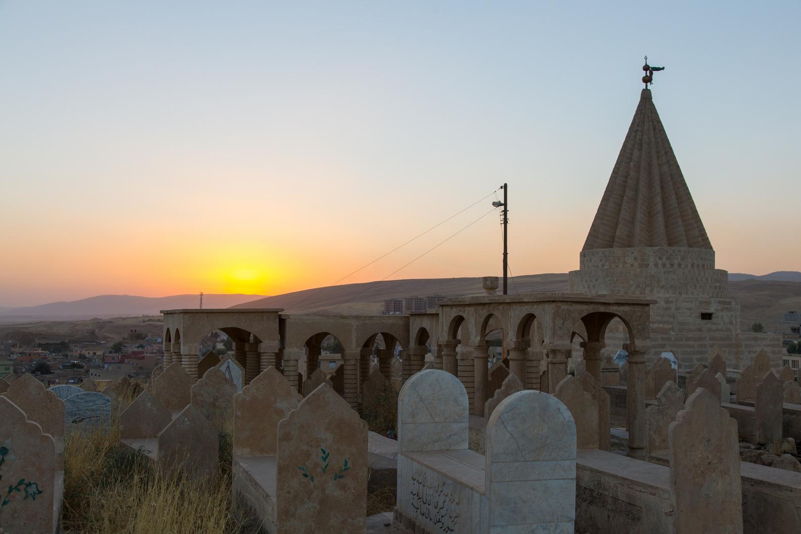 Yezidischer Tempel in Ba´ adre, Kurdistan