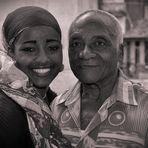 Yisel de La Habana y su tío