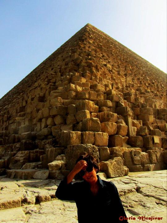 Yo, en Egipto.
