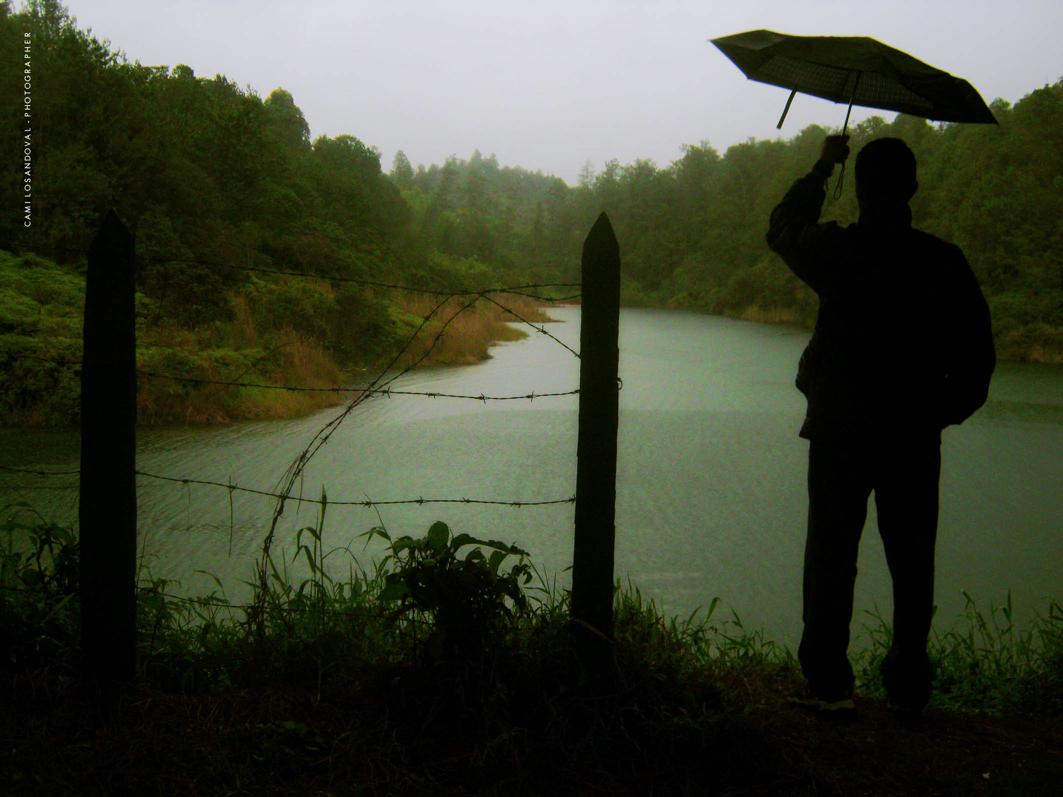 """""""Yo"""" ¿quien dijo que la lluvia no se disfruta?"""