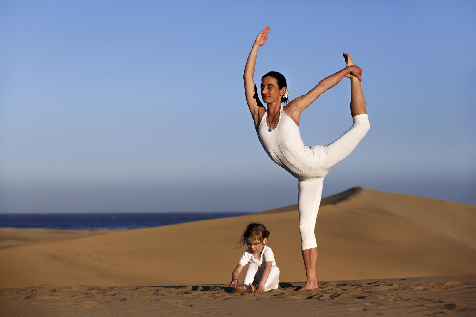 Yoga sandeln