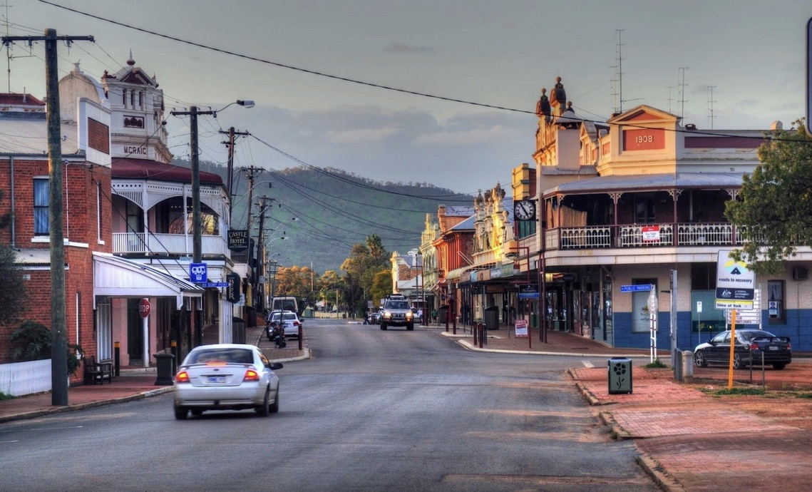 York WA. Western Australia
