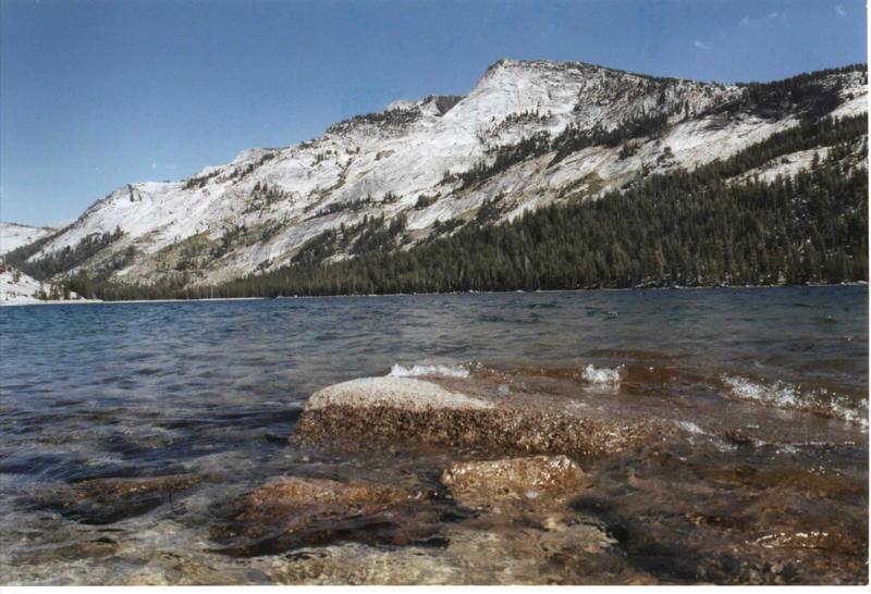Yosemite mal von unten