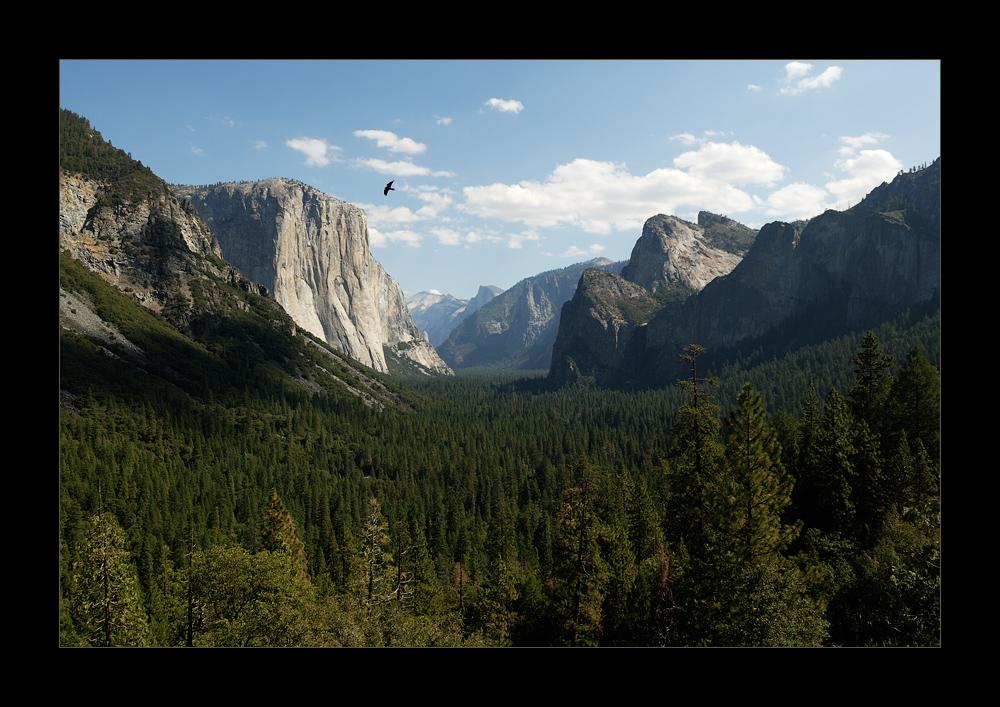 [ Yosemite - Tunnel View ]