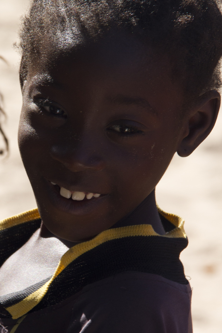 Young boy in Senegal