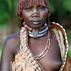 [ Young Hamer Tribe Woman ]