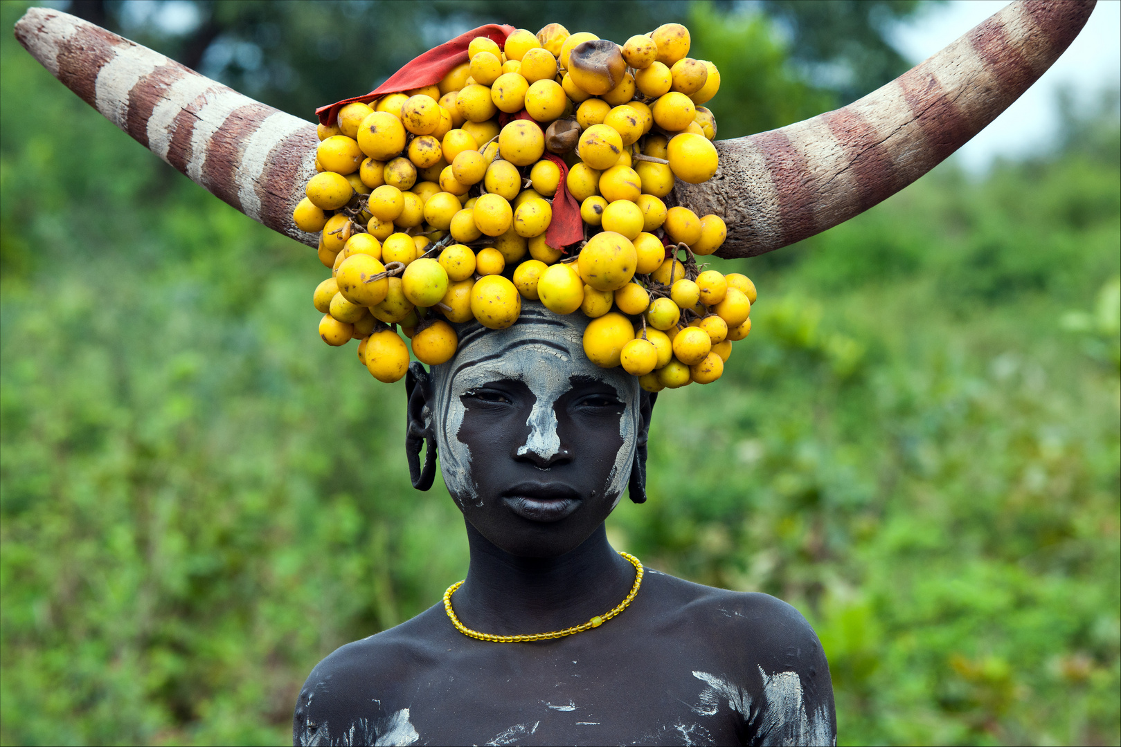 [ Young Mursi Tribe Woman @ Mago National Park ]