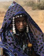 Young Peul woman