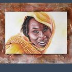 Young woman in yellow (2), Tchad