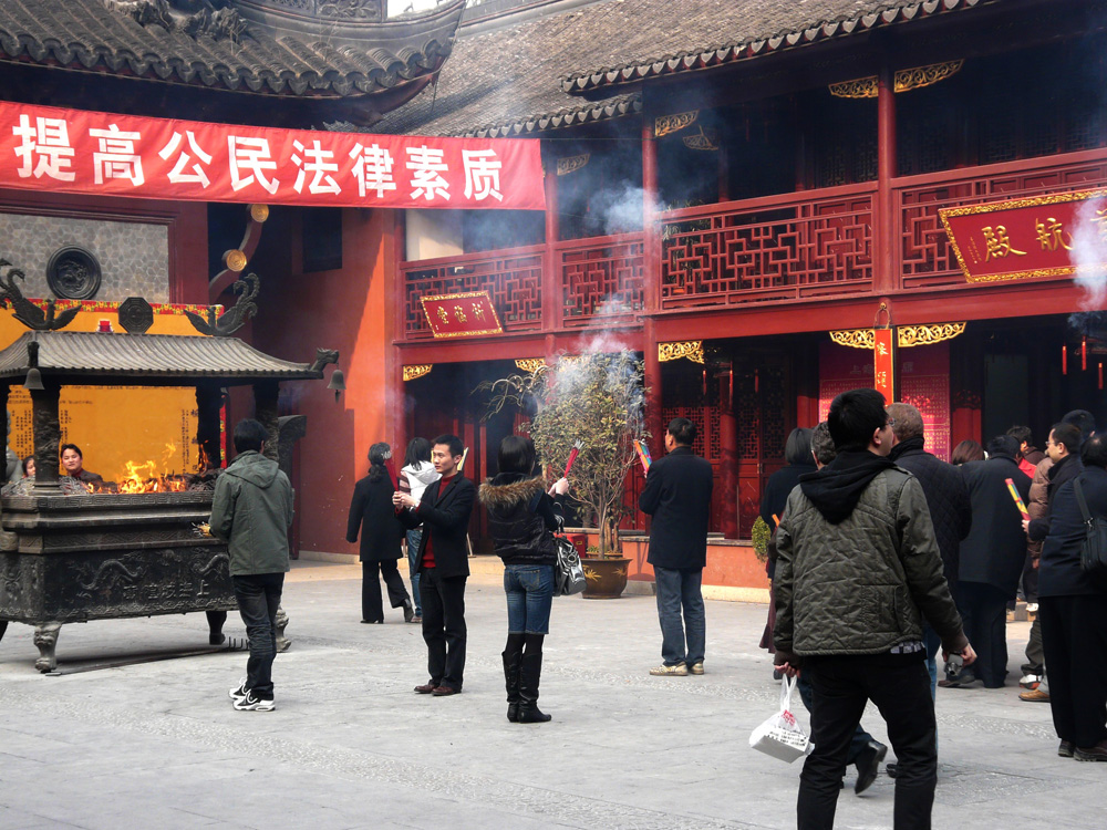 Yu Yuan Tempel in Shanghai