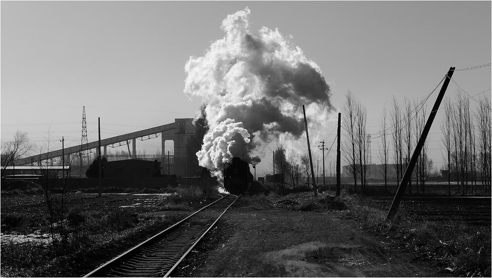 Yuanbaoshan 2013 - VIII - Güterzugausfahrt!