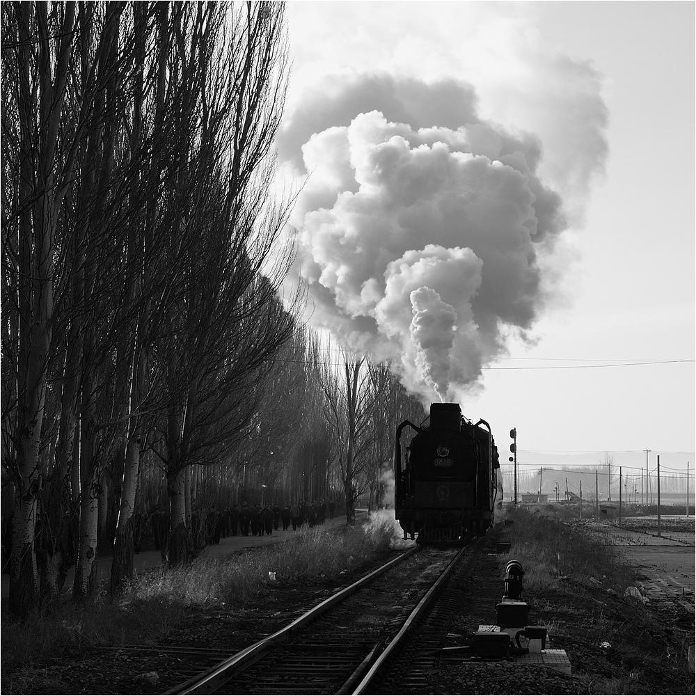 Yuanbaoshan 2013 - XIV - Arbeiterpersonenzug