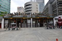 Yueh Hai Ching, Singapore's oldest Teochew temple