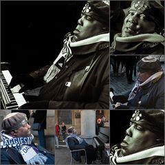 Yul Anderson Solo Piano Concert Tour life in Münster, auf unserem Prinzipalmarkt