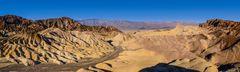 Zabriskie Point, Death Valley, Kalifornien, USA