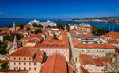 Zadar, Altstadt, Dalmatien, Kroatien