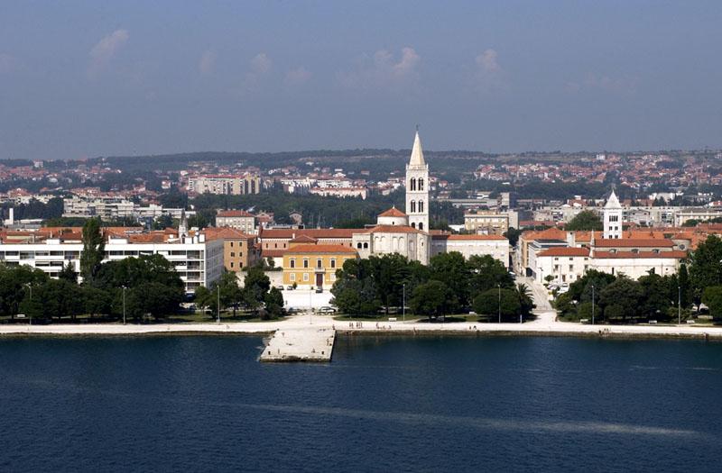 Zadar aus der Luft 2