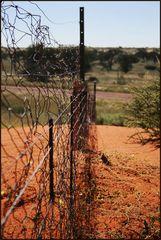 Zäune in den Weiten Namibias