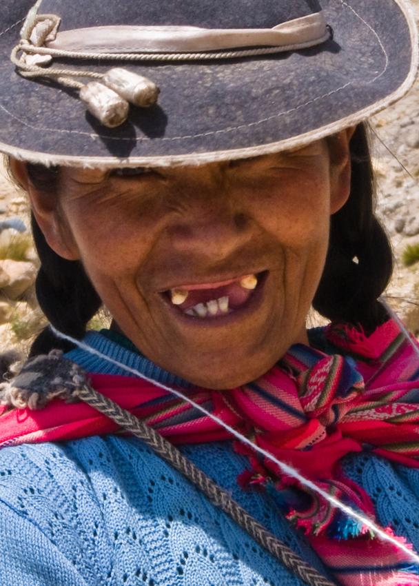 Zahnlos glücklich