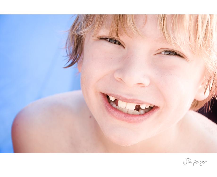 Zahnlückenlachen