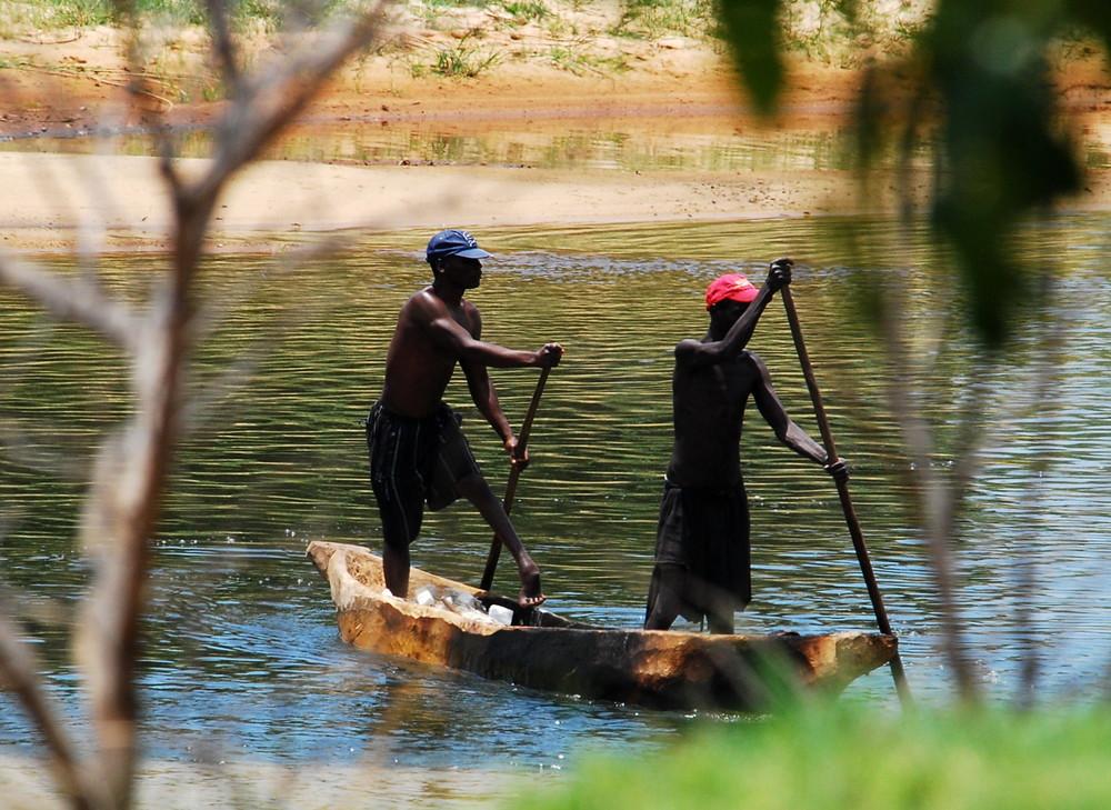 Zambezi - Nebenarm
