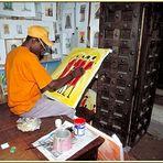 Zanzibar 2001 - Künstlergalerie in Stone Town