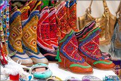 Zapatos aún más colorido ...