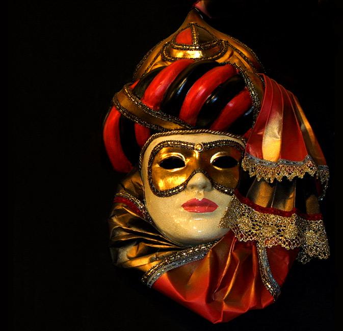 …zauber der masken…