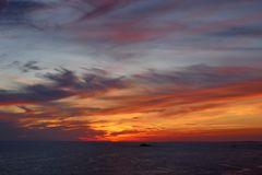 zauberhafter Himmel am Morgen...