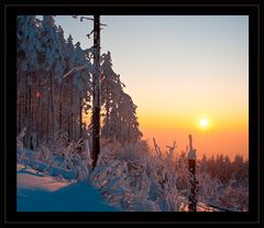 Zauberhaftes Winterlicht
