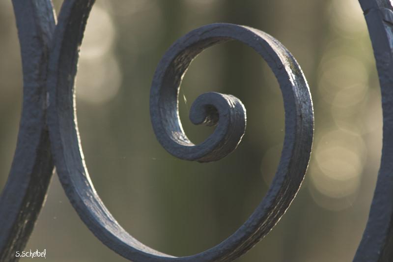 Zaun im Biebricher Schlosspark