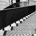 Zebra-Treppen ...