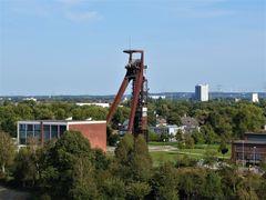 Zeche Recklinghausen II Schacht 4 - Blick von der Halde Hoheward