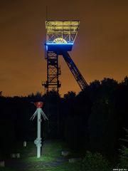 Zeche Teutoburgia Schacht I mit getaschlampter Protegohaube