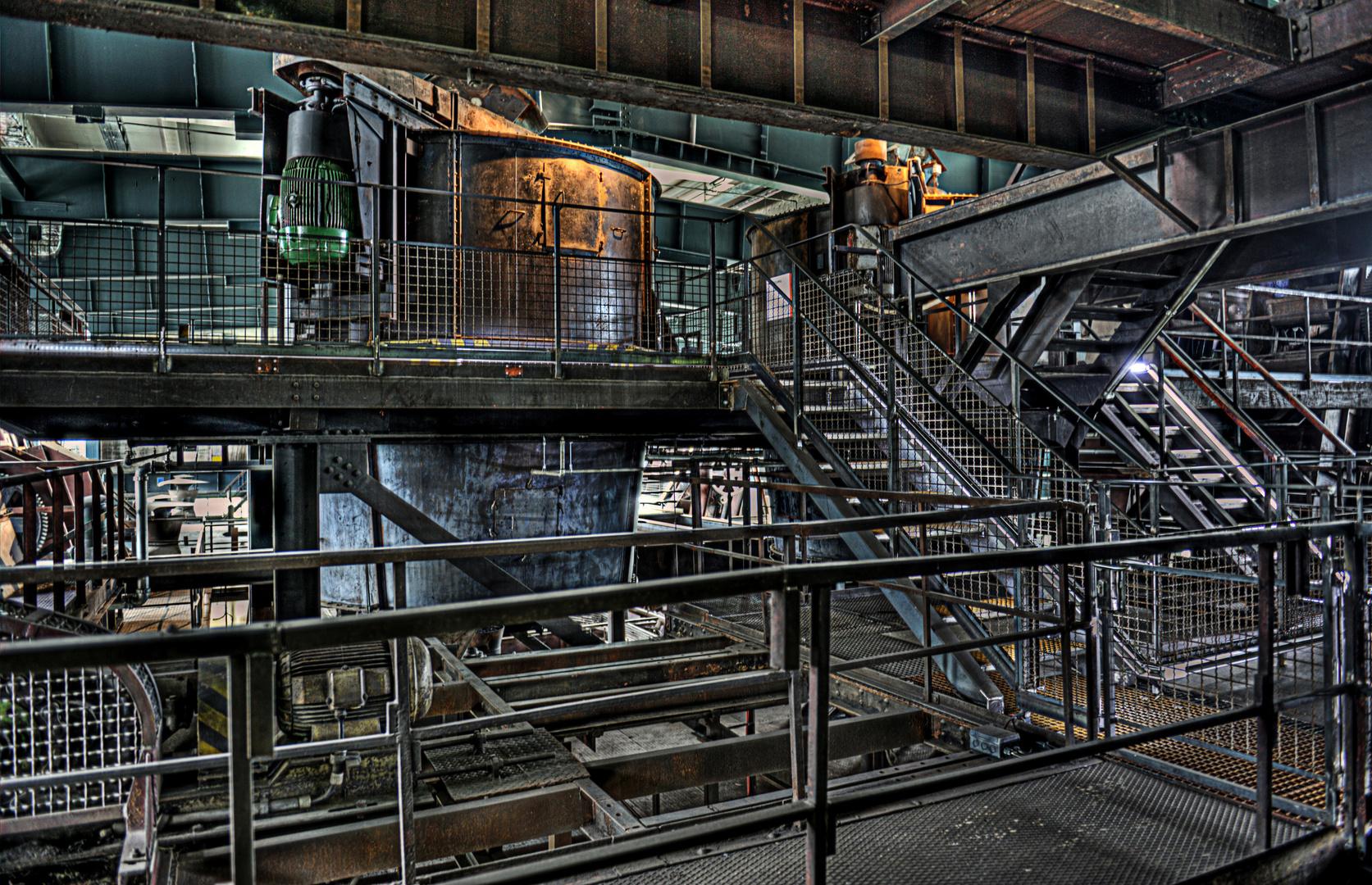 Zeche Zollverein Essen - HDR