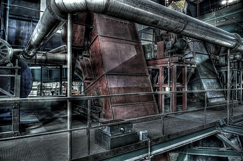 Zeche Zollverein Essen - HDR 4