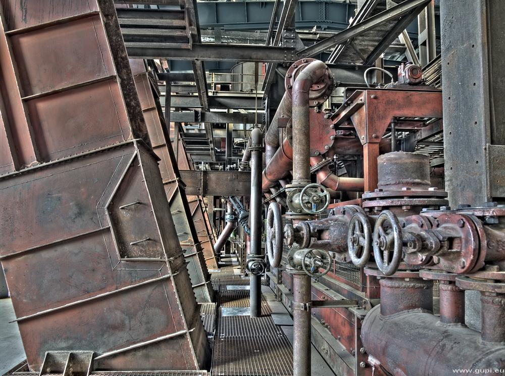 Zeche Zollverein Essen, Kohlenwäsche