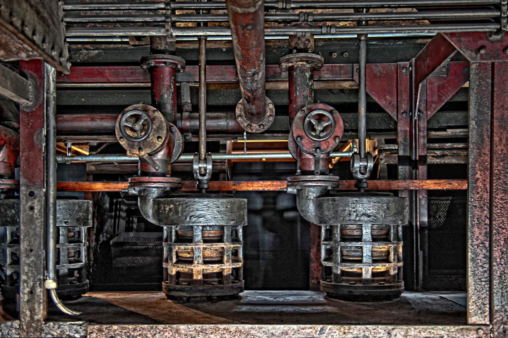 Zeche Zollverein Essen - Technikdetail
