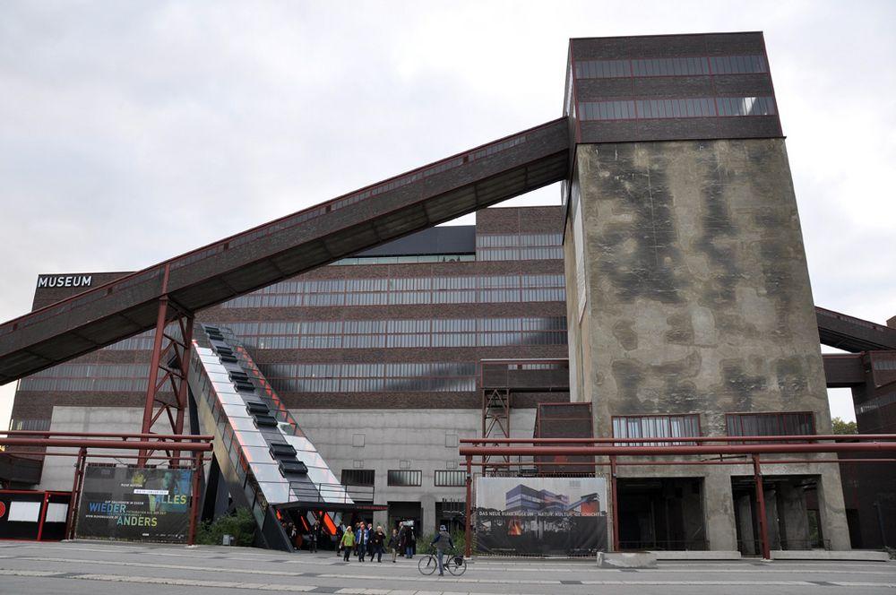 Zeche Zollverein in Essen 01 - Museum