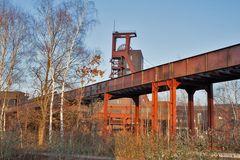 Zeche Zollverein in Essen,..