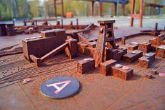 Zeche Zollverein in Essen im Kleinformat