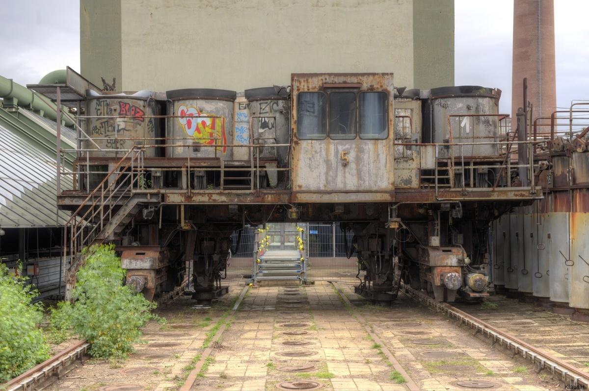 ~ Zeche Zollverein - Kokerei - Beladungswagen ~