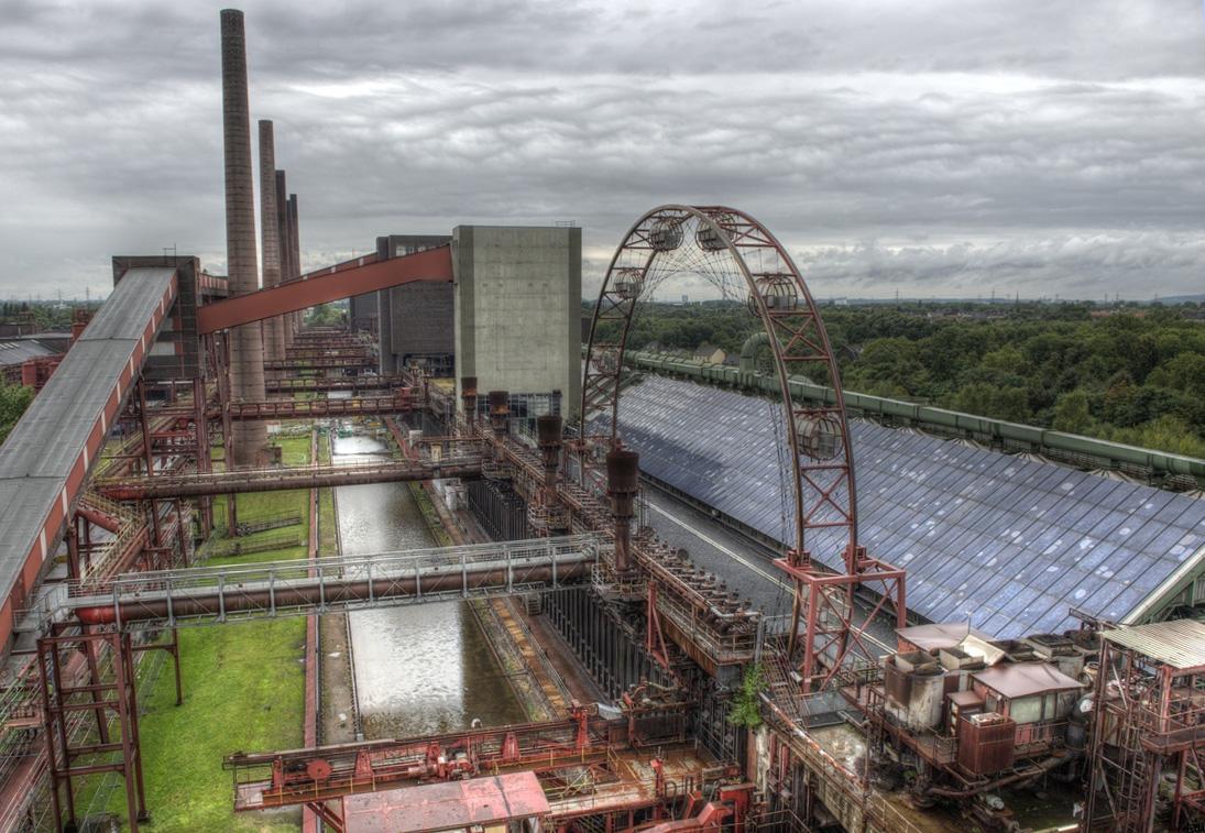 ~ Zeche Zollverein - Kokerei - Sonnenrad ~
