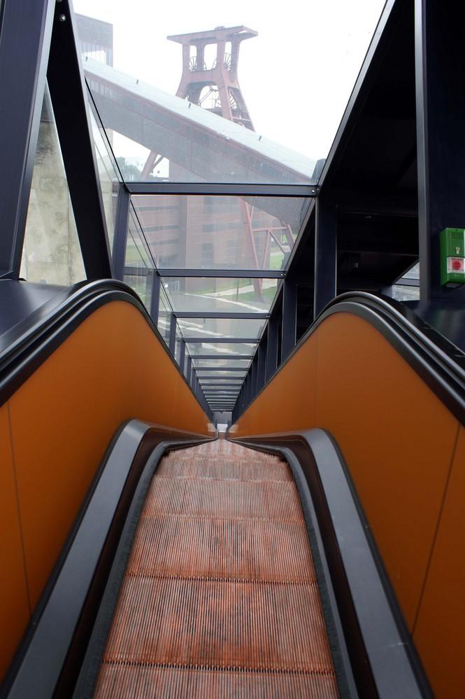 Zeche Zollverein Rolltreppe eins